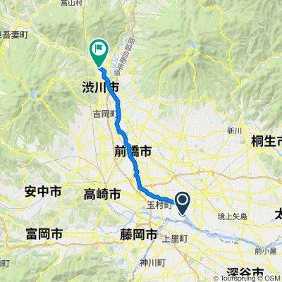 一般県道玉村渋川自転車道線(県央自転車道)