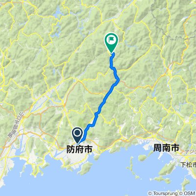 一般県道佐波川自転車道線