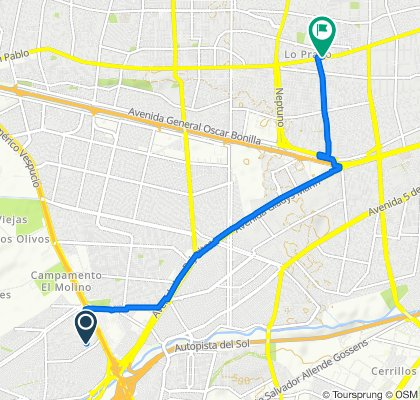 Ruta relajada en Lo Prado