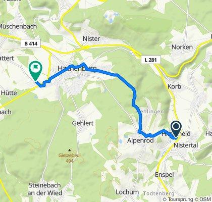 Im Erlengarten 12A, Alpenrod to Vor der Struth 2, Hachenburg