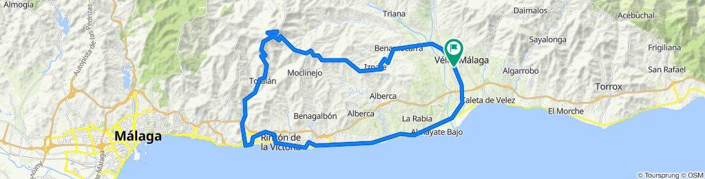 Vélez-Málaga, montaña oeste