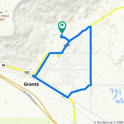 1525 Valley Dr, Grants to 1525 Valley Dr, Grants