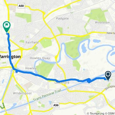 5 Walden Close, Warrington to Owen Street, Warrington