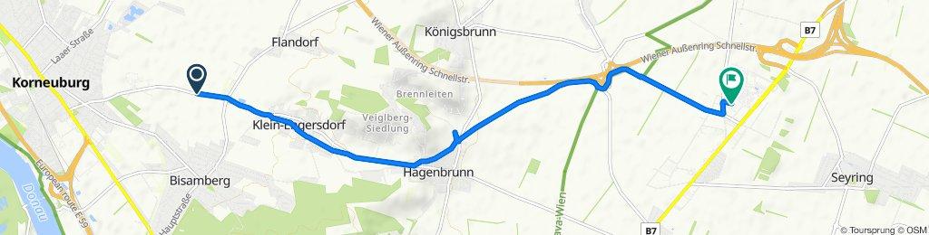 Entspannende Route in Gerasdorf bei Wien