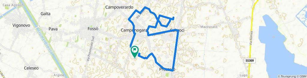 Via Giovanni Pascoli 2–4, Camponogara to Via Giovanni Pascoli 33, Camponogara
