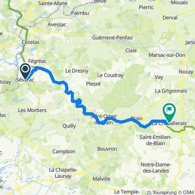 Sévérac–Guenrouet–Blain–La Chevallerais