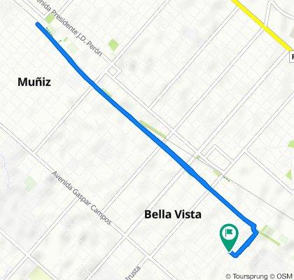 Paseo rápido en San Miguel