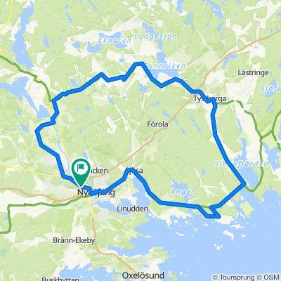 75 km naturskön upplevelse från Blommenhof