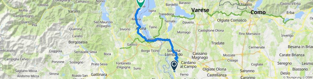 Aeroporto Malpensa 2000, Ferno to Via Castello 2, Lesa