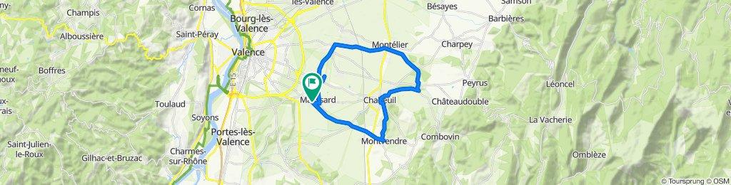4 Allée du Champ de la Lyre, Malissard to 4 Allée du Champ de la Lyre, Malissard
