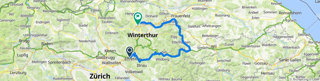 Long way home #1 58 km