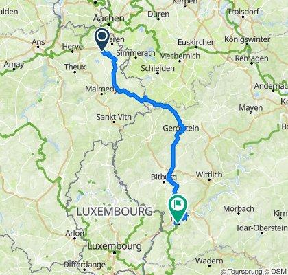 Eupen - Trier