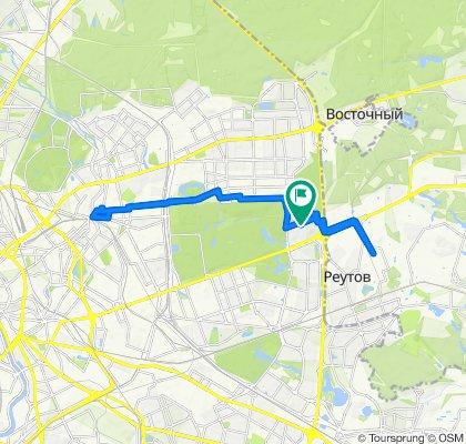 Весенние сухо-грязные велоездки подсушенные Реутов - Соколиная Гора 11 03 2020