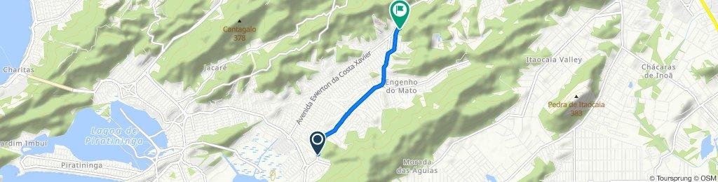 Rua Irene Lopes Sodré, 374–464, Niterói to Rua Geórgina da Conceição, 58, Niterói
