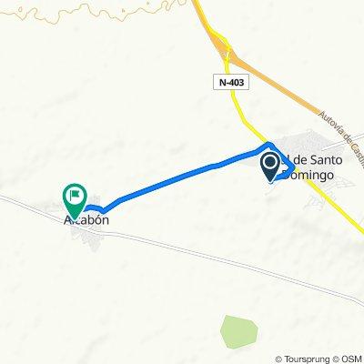 Route to Calle Murillo, 12, Alcabón