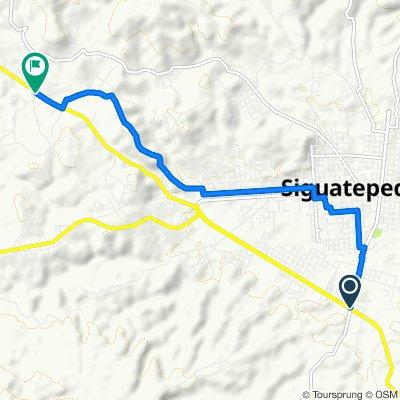 Carretera del Norte, Siguatepeque to Carretera del Norte, Siguatepeque