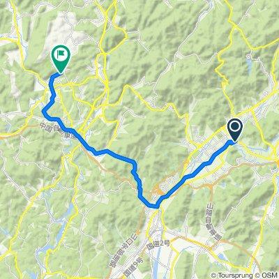 一般県道山口秋吉台公園自転車道線