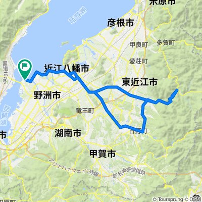 守山~東近江~日野ルート