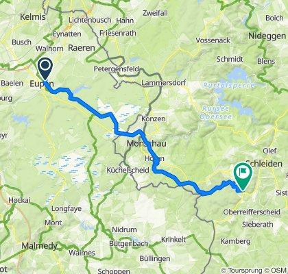 Eupen - Hellenthal Etappe 1