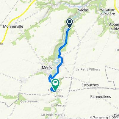 Itinéraire modéré en Autruy-sur-Juine