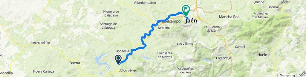 VÍA VERDE DEL ACEITE _ De JA-4308 50, Alcaudete a Calle del Pino 7, Jaén