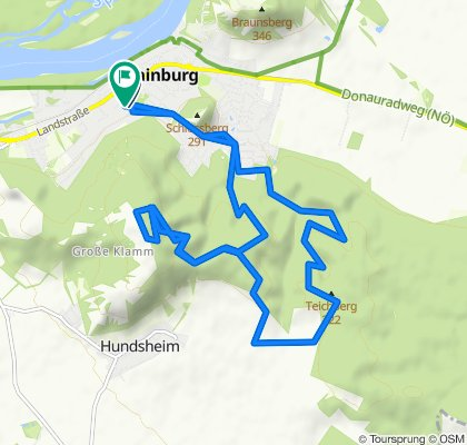 Uvoľnená trasa Hainburg an der Donau