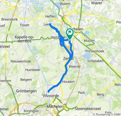 Hogesnelheidsroute in Mechelen