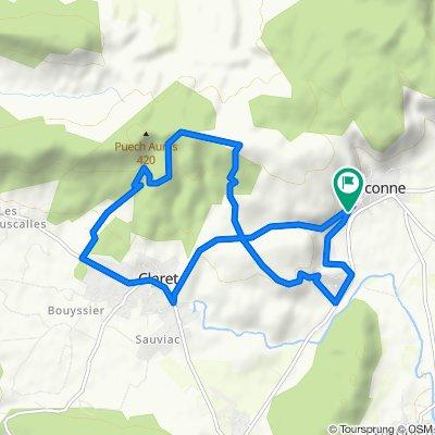MTB 06. Corconne Claret 12,6km