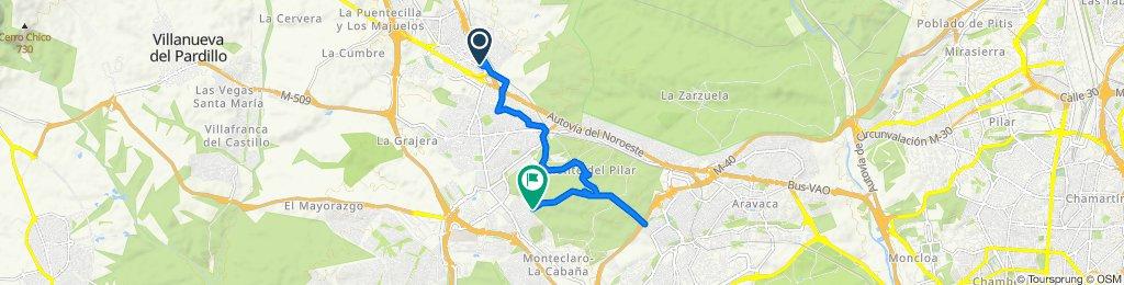 Ruta constante en Las Rozas de Madrid