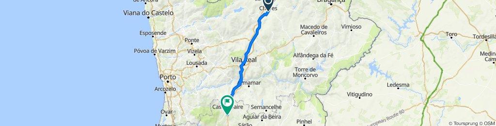 Estrada Nacional 2 Etapa 1 (Chaves/Castro Daire)