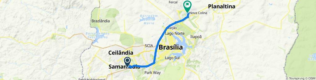 Caminhada lenta Brasília