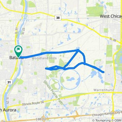 154 W Wilson St, Batavia to 154 W Wilson St, Batavia