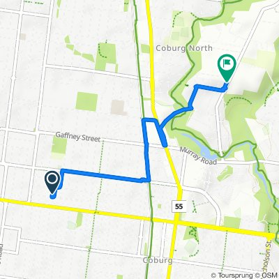 Steady ride in Coburg