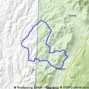 Equinox saddle route