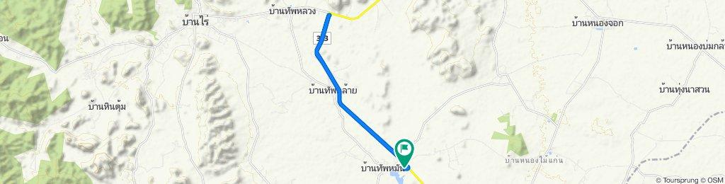 Restful route in Ban Rai