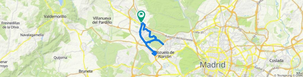 Calle de Gredos, 3, Las Rozas de Madrid to Calle de Gredos, 5, Las Rozas de Madrid