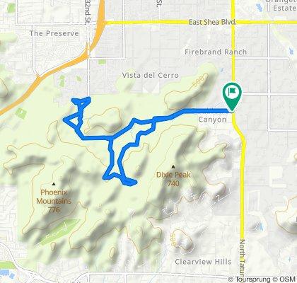 8811 N 47th Pl, Phoenix to 8646 N Tatum Blvd, Phoenix