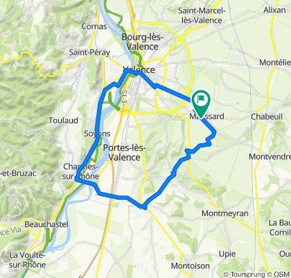 4 Allée du Champ de la Lyre, Malissard to 2 Allée du Champ de la Lyre, Malissard