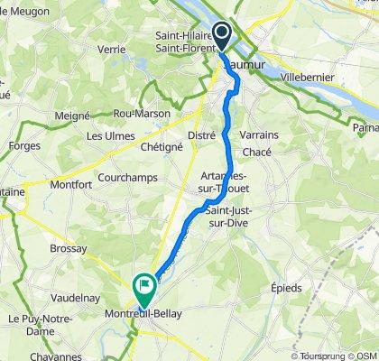Saumur - Montreuil-Bellay Cycling
