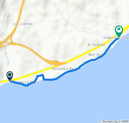 Ontspannen route in Estepona