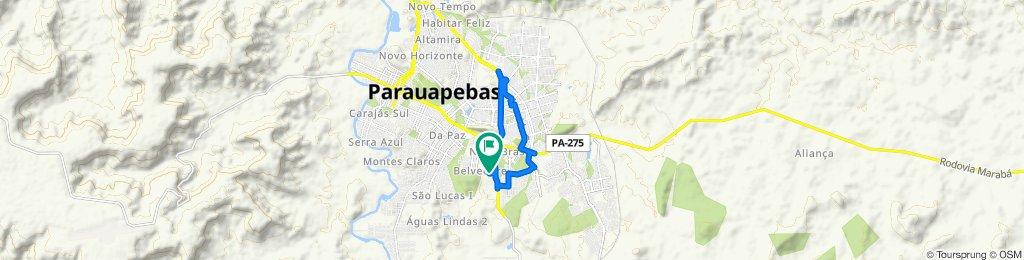 Rua Cameta, 77, Parauapebas to Rua Cameta, 77, Parauapebas