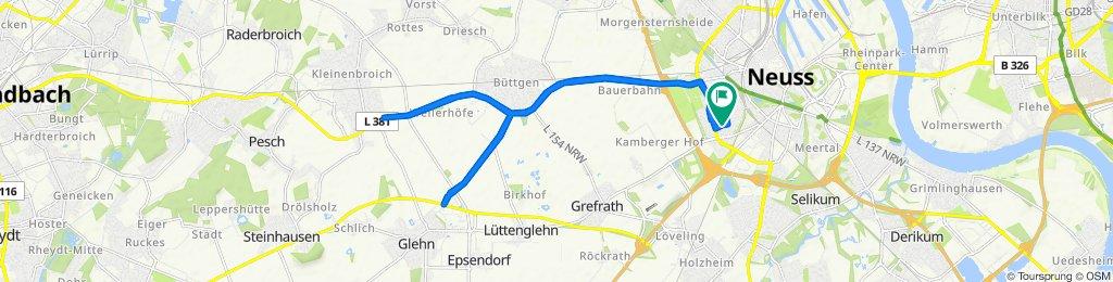Im Jagdfeld 42A, Neuss to Im Jagdfeld 42A, Neuss
