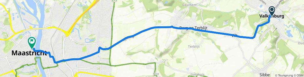 Kerkstraat 31, Valkenburg nach Kleine Gracht 18A, Maastricht