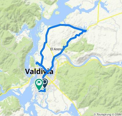 De Circunvalación Sur 2541, Valdivia a Los Pumas 570, Valdivia