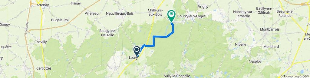 27 Rue du Clos du Chemin, Loury to Domaine de Chamerolles, Chilleurs-aux-Bois