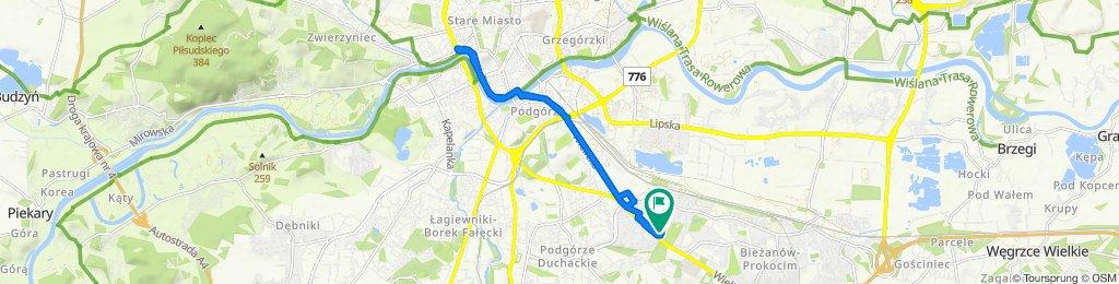 Umiarkowana trasa w Kraków