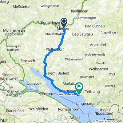 Deutsche Fachwerkstrasse - Mengen-Friedrichshafen