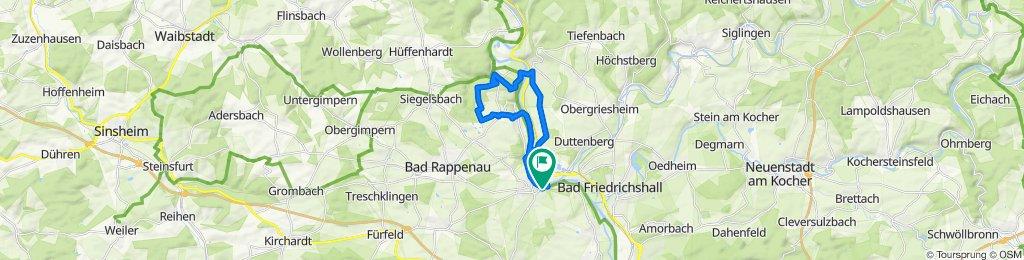 Bad Wimpfen  - Gundelsheim und zurück