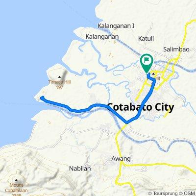 Fast ride in Cotabato City