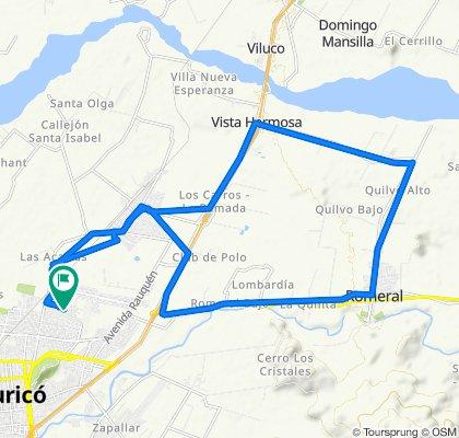 Curicó-Sarmiento-Romeral-Quilvo